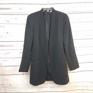Eileen Fisher Project Black Tencel Blazer Jacket